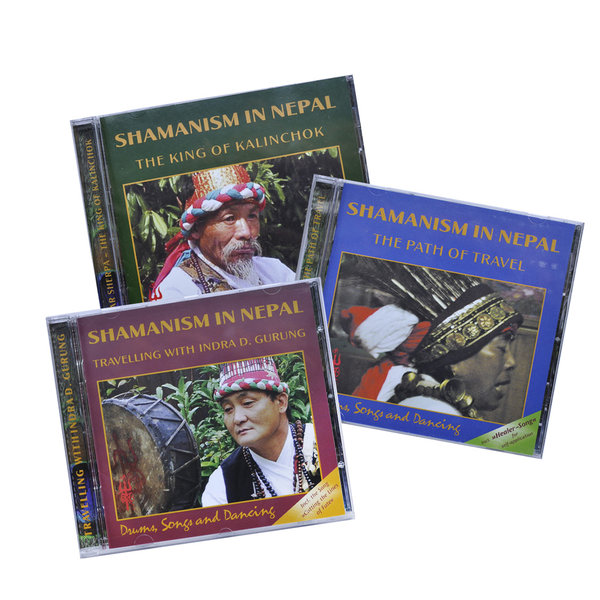 CD Bundle Shamanism in Nepal Volume 1 – 3
