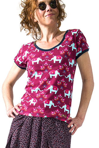 "T-Shirt ""Happy Elephants"""