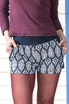 "Hot Pants ""Rorschach"" Shorts Baumwolle"